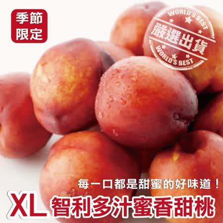 果之蔬 智利進口甜桃禮盒10入