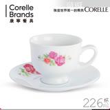 【美國康寧 CORELLE】薔薇之戀咖啡杯組(ROS0202)