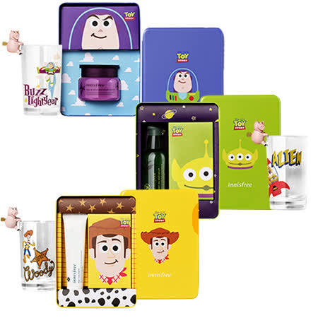 Innisfree 玩具總動員聯名款禮盒