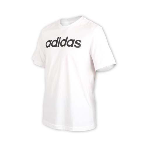 (男) ADIDAS 短袖圓領T恤-慢跑 路跑 愛迪達 白黑
