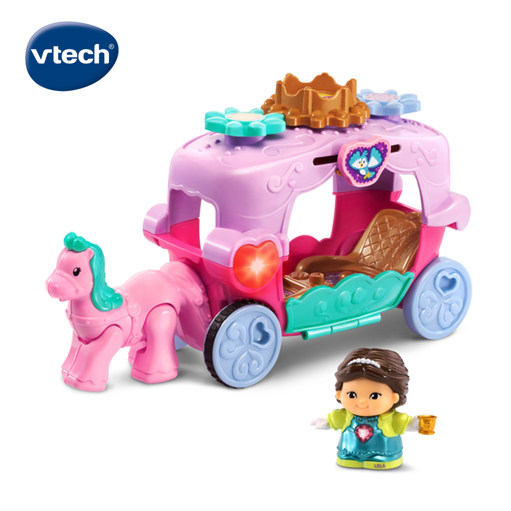 【Vtech】夢幻城堡系列-公主與魔法皇家馬車