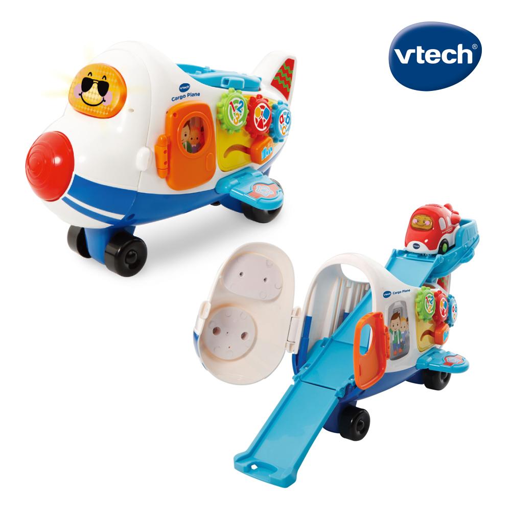 【Vtech】嘟嘟車系列-巨無霸飛機軌道組 (另附贈嘟嘟小飛機乙台)