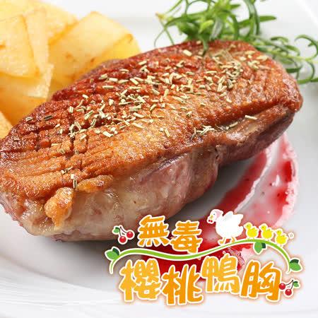 愛上吃肉 法式特級櫻桃鴨胸5片