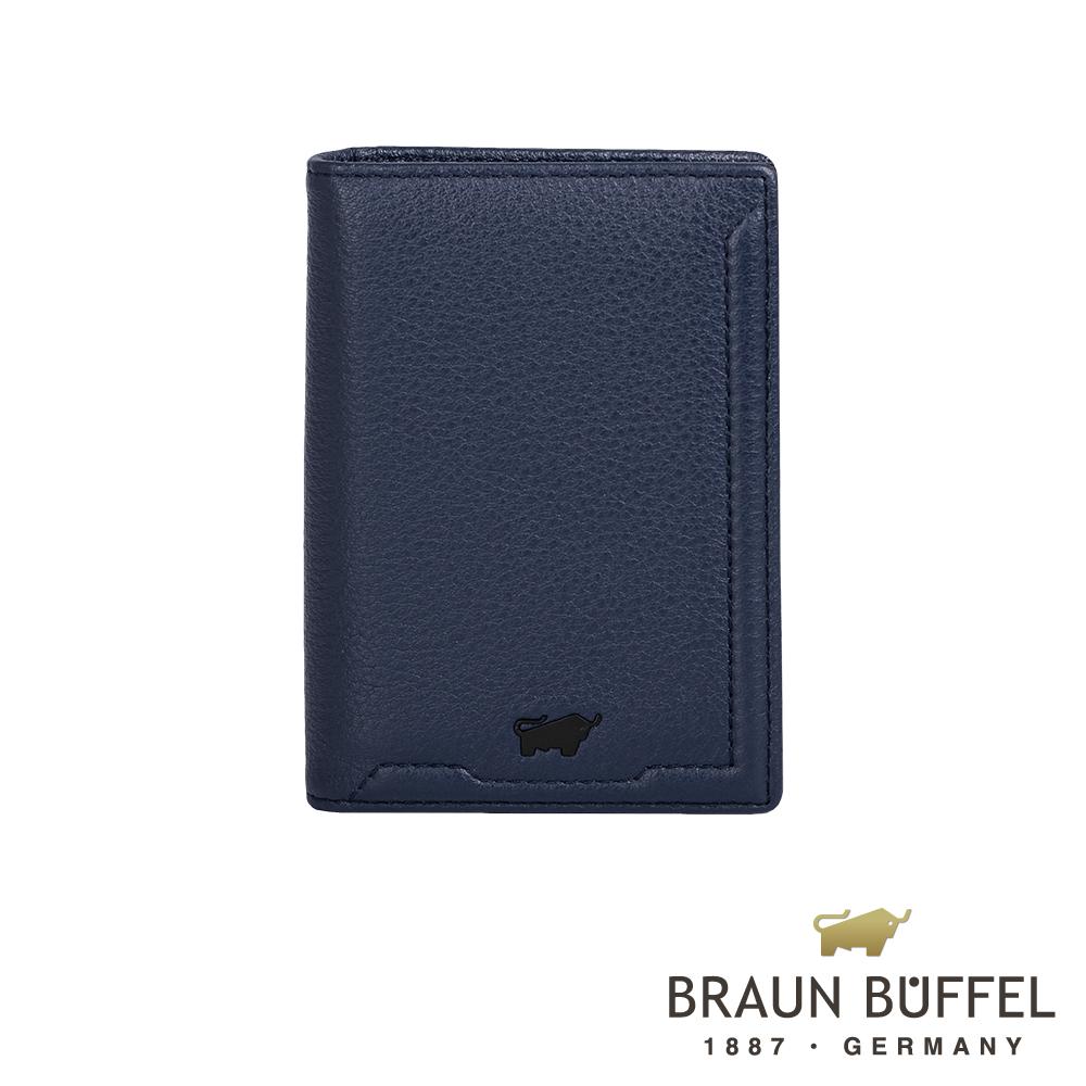 【BRAUN BUFFEL德國小金牛】吉米系列3卡名片夾/ BF315-402-OC