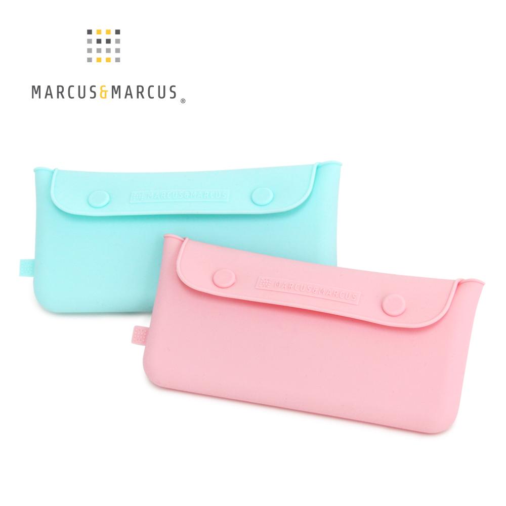 【MARCUS&MARCUS】輕巧矽膠餐具收納袋 2色可選