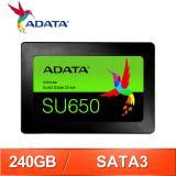ADATA 威剛 Ultimate SU650 240G 2.5吋 SATA SSD固態硬碟(讀:520M/寫:450M/TLC)