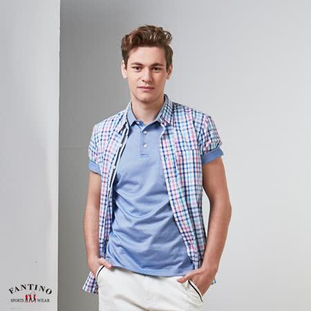 FANTINO  吸濕排汗混紗機能衫
