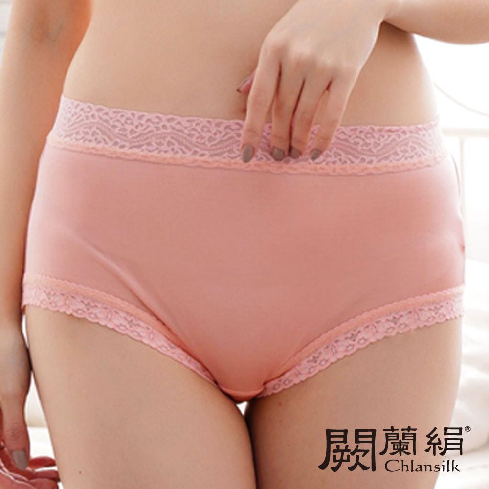 【Chlansilk闕蘭絹】輕柔素雅42針100%蠶絲內褲-88422(粉)