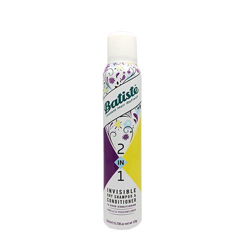 BATISTE二合一乾洗髮噴劑-香橙石榴200ML