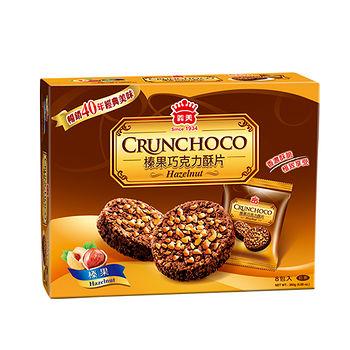 義美榛果巧克力酥片280G
