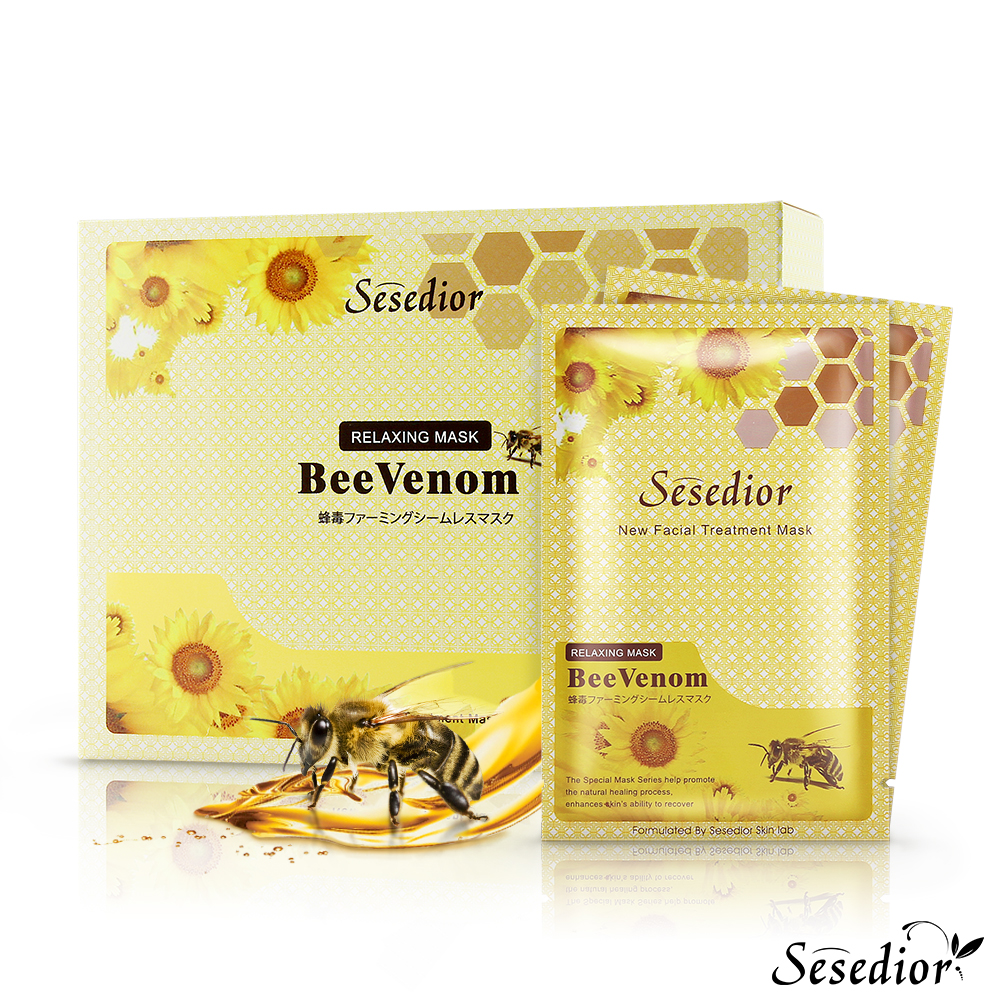 【Sesedior】類蜂毒胜肽緊緻面膜60片