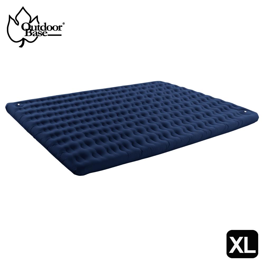 【台灣 CampLife】升級版 美麗人生充氣床墊XL號(280x188cm)(內建彈簧幫浦/附提袋/非自動充氣)300x300帳蓬/客廳帳/24134 藍