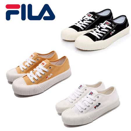 FILA中性休閒餅乾鞋(三色)