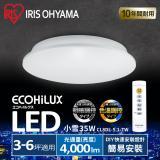 日本IRIS 3-6坪 LED 遙控 調光調色 吸頂燈 天花板燈 小雪CL8DL-5.1