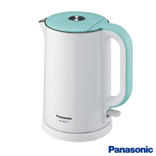 【Panasonic國際牌】1.2L不鏽鋼雙層隔熱快煮壺NC-HKD121