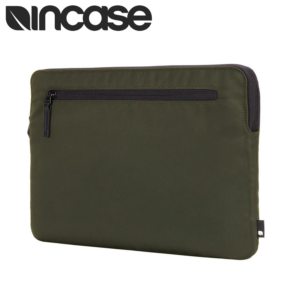 【INCASE】Compact Sleeve 13吋 耐用飛行尼龍筆電保護內袋 / 防震包 (軍綠)