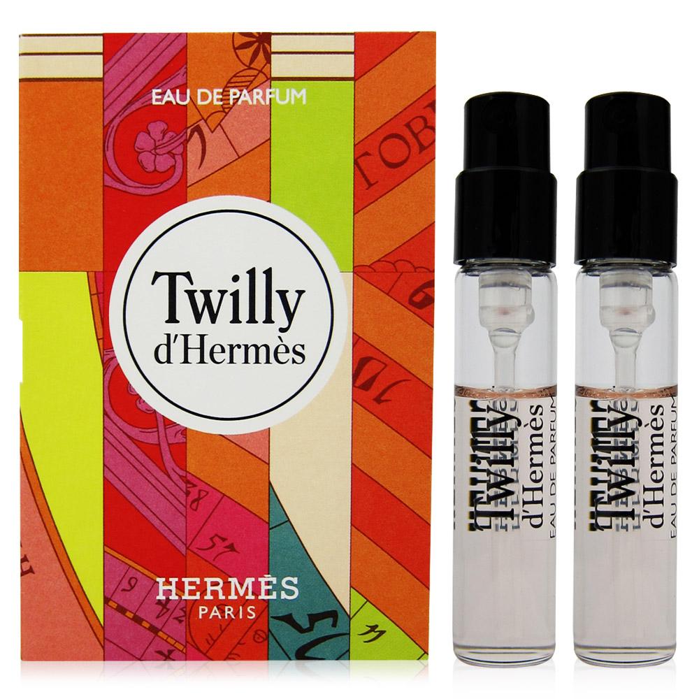 Hermes 愛馬仕 Twilly d Hermes女性淡香精 針管2mlx2入