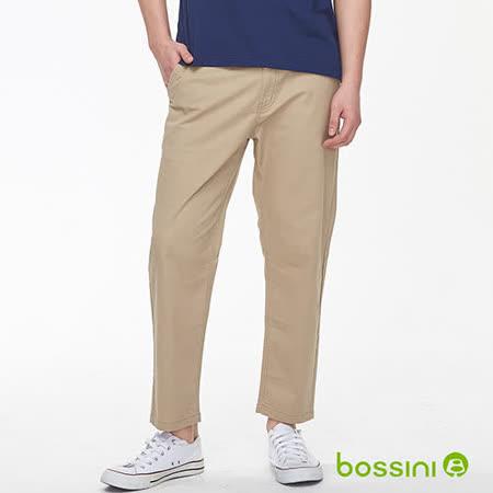 bossini 及踝茶色9分褲