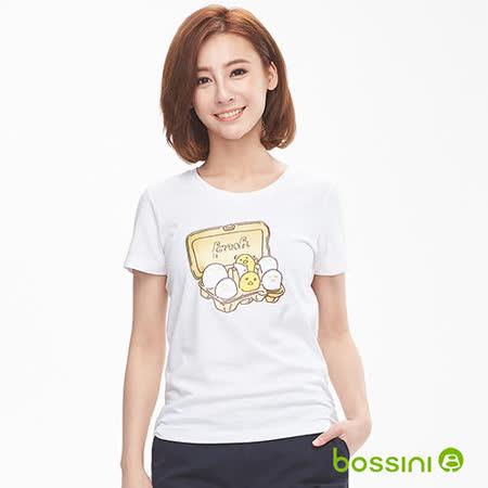 bossini女裝 印花短袖T恤