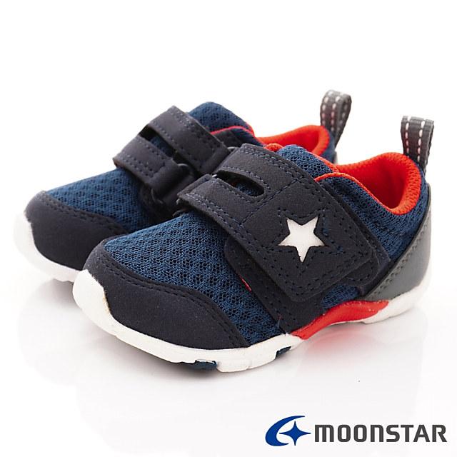 日本Carrot機能童鞋-透氣穩定款-MSB8882酒紅-(13cm-14.5cm)
