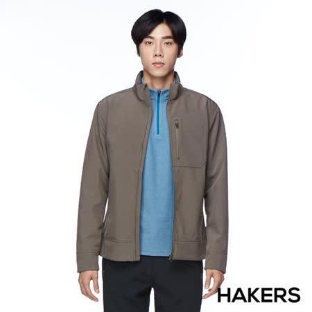 HAKERS 防潑保暖外套(淺褐色)