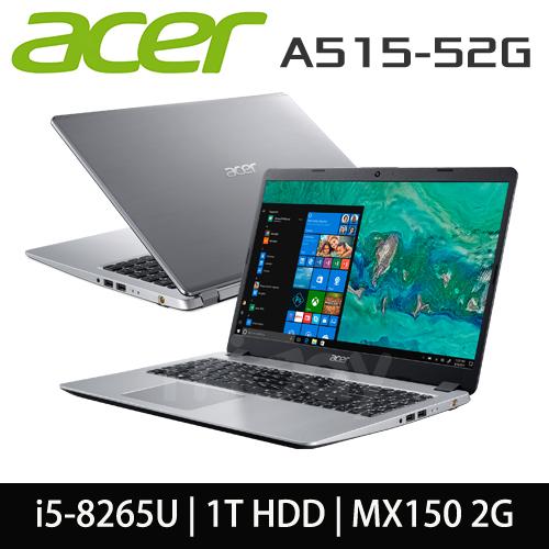 ACER 宏碁 A515-52G-57ZU i5-8265U/4GB DDR4/1TB/MX150 2G/15.6吋霧面