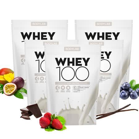 BODYLAB Whey 100  乳清蛋白飲品 (任選)