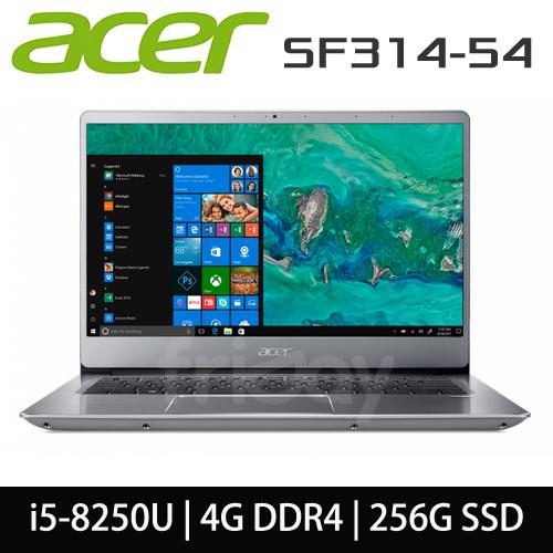 ACER 宏碁 SF314-54-560R i5-8250U/4GB DDR4/256G SSD/14吋FHD
