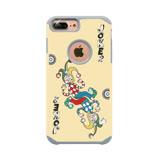 apbs x Mb 【 iPhone 6/7/8 】4.7吋 施華洛世奇 防摔 二合一 鑽殼 - 撲克鬼牌
