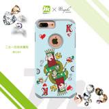 apbs x Mb 專屬款【 iPhone 6/7/8 】4.7吋 施華洛世奇 防摔 二合一 鑽殼 - 撲克老K