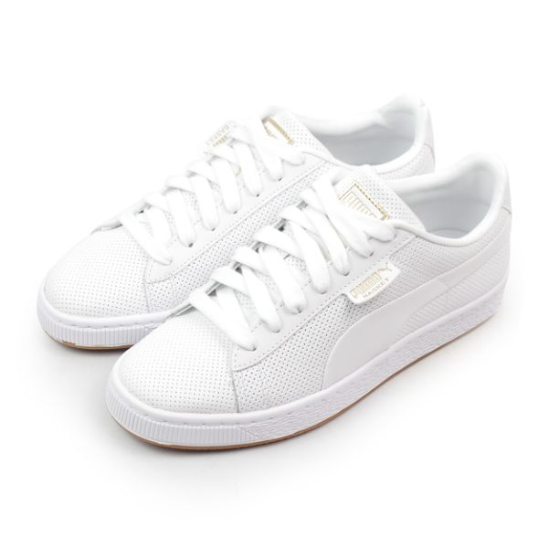 PUMA 女 BASKET CLASSIC GUM JR 休閒鞋 - 36896202