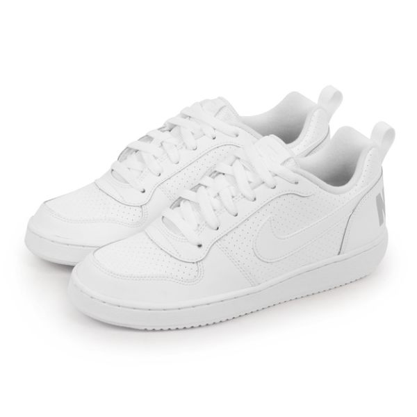NIKE 女 NIKE COURT BOROUGH LOW (GS) 經典復古鞋 - 839985100