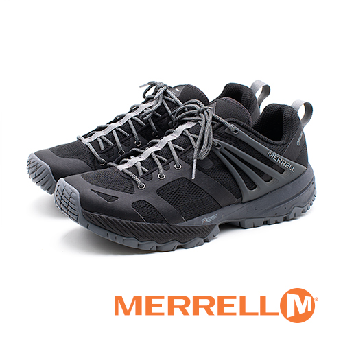 MERRELL(男)MQM ACE GORE-TEX®郊山健行鞋-黑(另有藍)