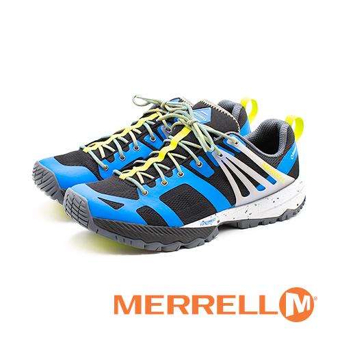 MERRELL(男)MQM ACE GORE-TEX®郊山健行鞋-藍(另有黑)