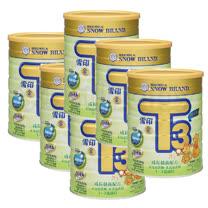 雪印 金T3成長營養配方奶粉900g (六罐入)