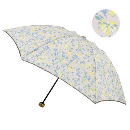 【2mm】百花絮語 晴雨兩用抗UV輕量手開傘