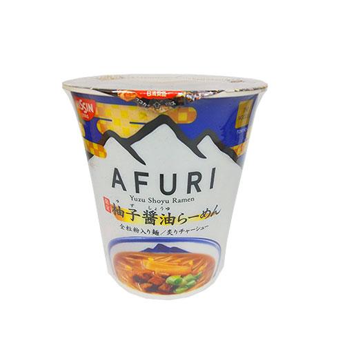 《日清》日清AFURI柚子醬油杯麵91G