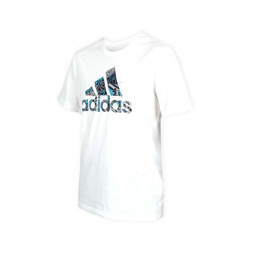 (男) ADIDAS 短袖T恤-短T 短袖上衣 慢跑 愛迪達 白黑灰藍