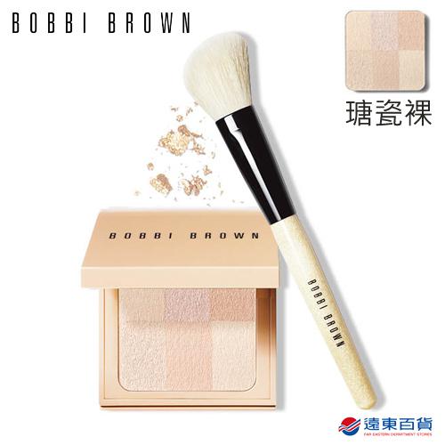 【官方直營】BOBBI BROWN 芭比波朗 裸膚蜜粉刷具組 (彷若裸膚蜜粉餅 Porcelain瑭瓷裸)