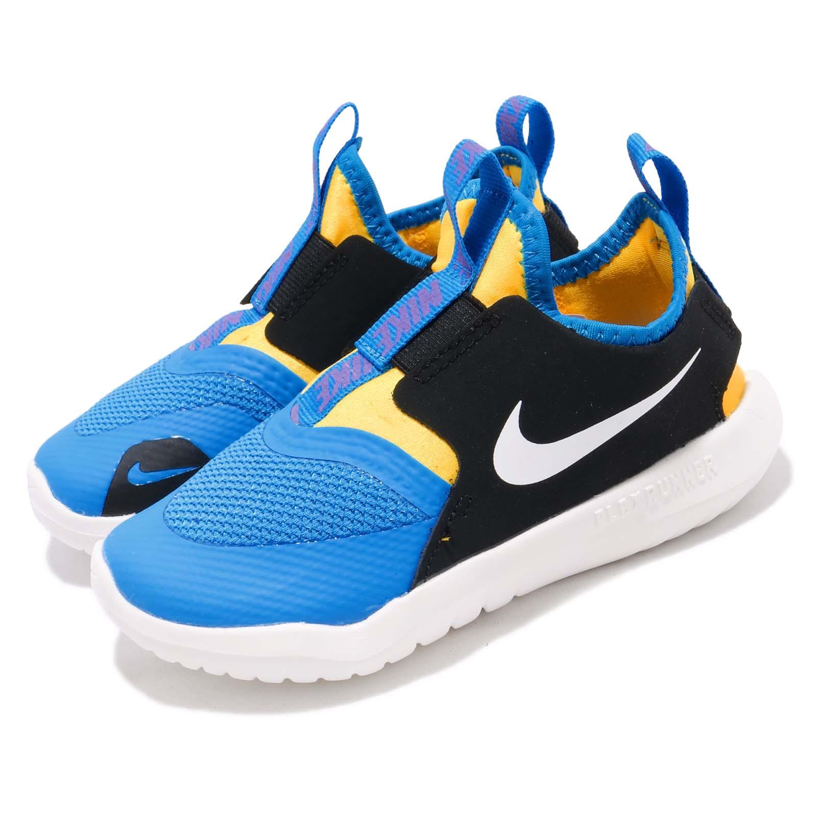 Nike 休閒鞋 Flex Runner 運動 童鞋 AT4665-401