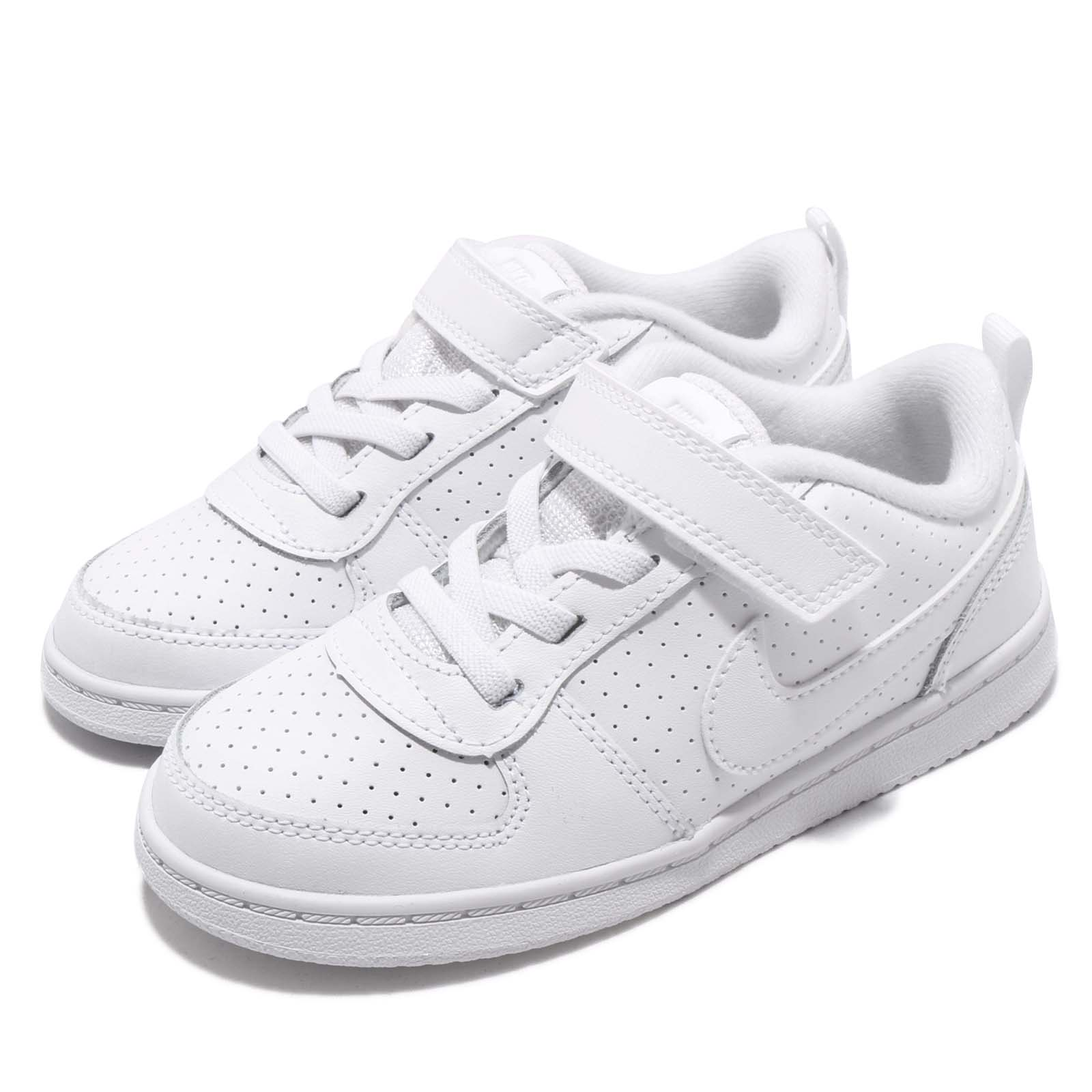 Nike 休閒鞋 Court Borough 童鞋 870029-100