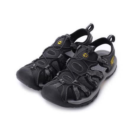 LOTTO 護趾排水運動涼鞋