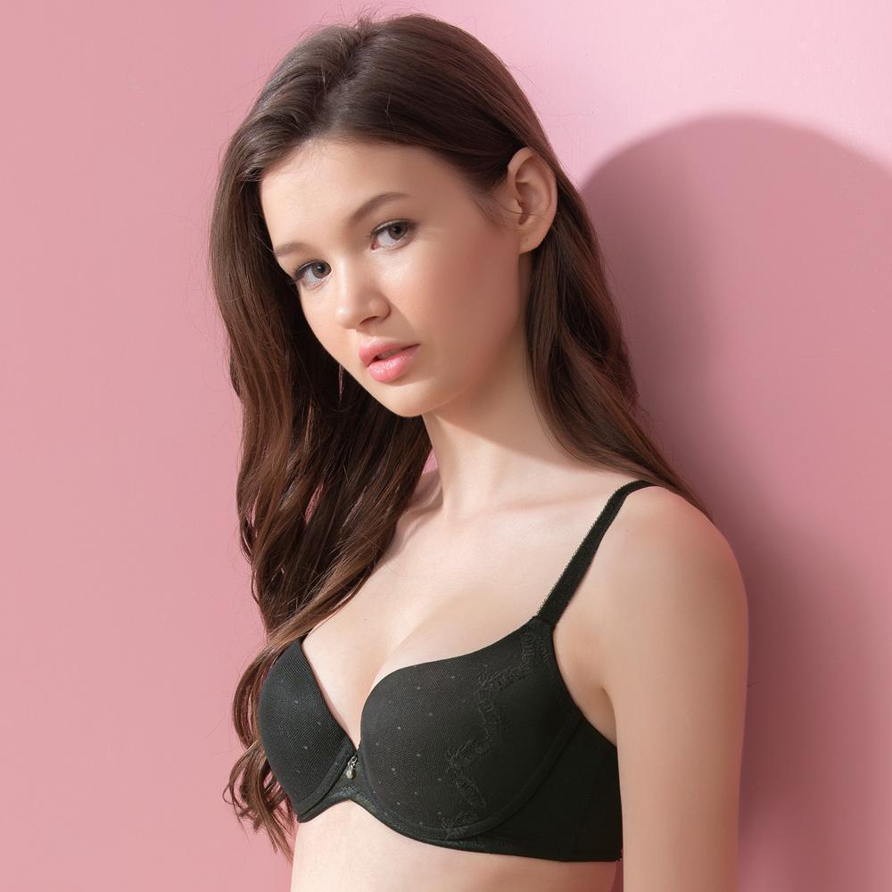 華歌爾-Good Fit BraB-C罩杯神奇內衣(時尚黑)四層三段專利-貼身舒適
