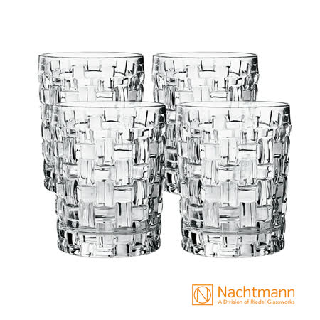 德國Nachtmann 巴莎諾瓦威士忌杯(4入)