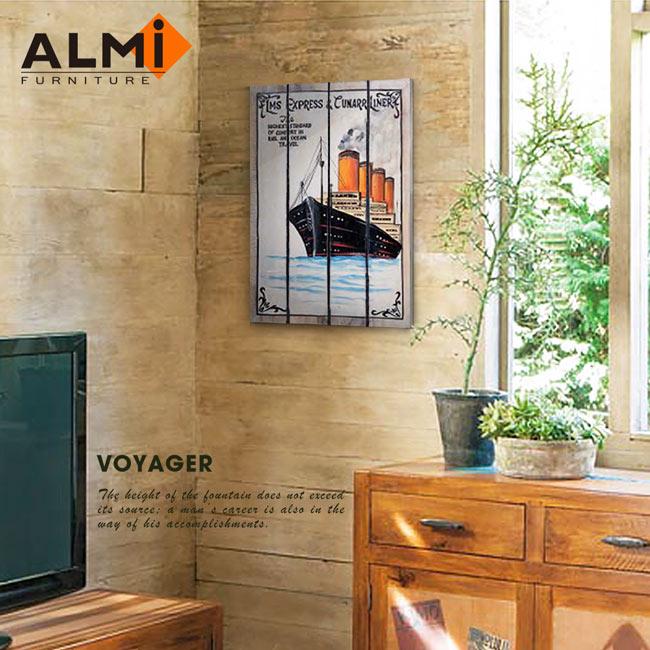 【ALMI】PAINTING-VOYAGER 40x60 木板畫( 7款可選)