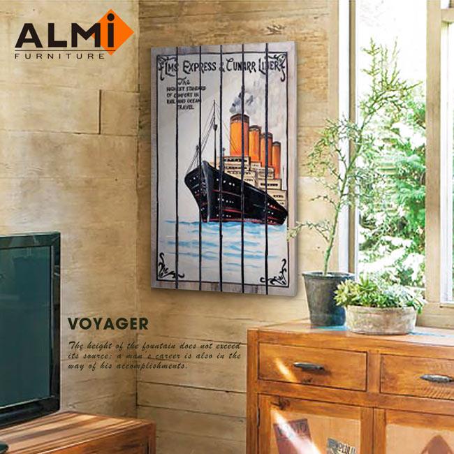 【ALMI】PAINTING-VOYAGER 60x100 木板畫( 7款可選)