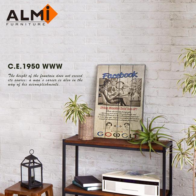 【ALMI】PAINTING-WWW 40x60 木板畫(4款可選)