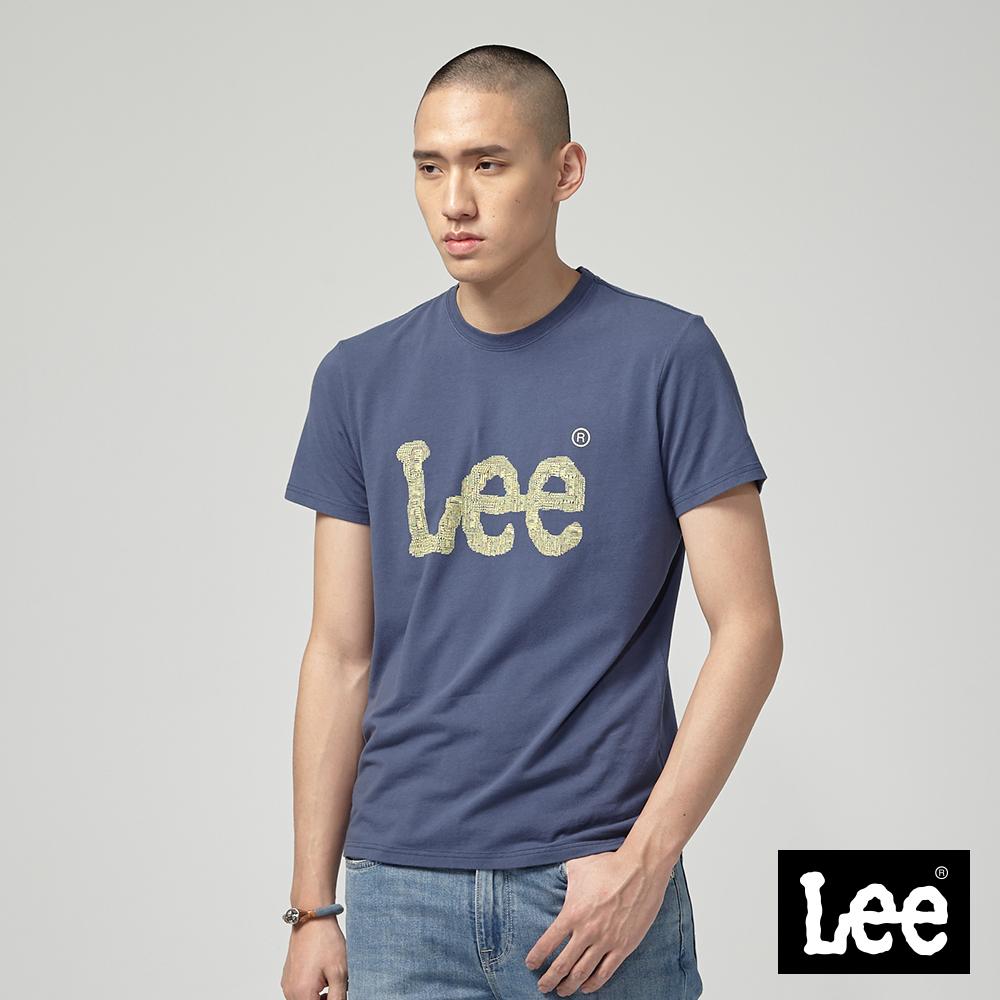 Lee ART IS EVERYTHING LOGO短袖圓領T恤/RG丈青