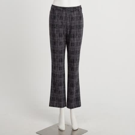 Jione 3D涼感格紋布長褲