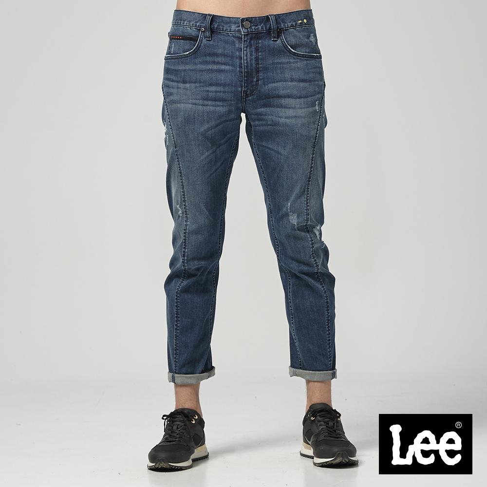 Lee 中腰標準3D牛仔褲/UR-中